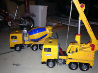 TWO Bruder Toy Trucks
