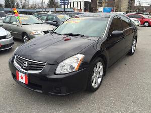 2008 Nissan Maxima 3.5 SE SEDAN…LOW KMS…LOADED..MINT COND.