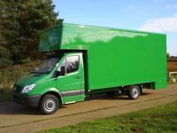 Any Time Short_Notice Removal Man and Fully Insured Vans From £15/H/ Large Lorries Available.