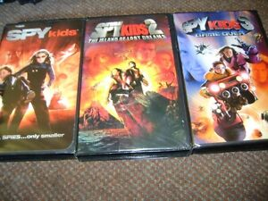 SPY KIDS ONE TWO THREE ON VHS
