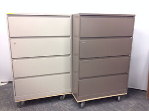 """Filing cabinets Brand new Steelcase 900 36""""w in 2 colours $450"""