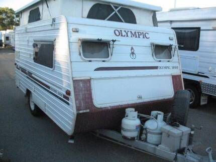 2004 Olympic POP TOP ,FUEL MISER , COMPACT TOURER DBL BED,CHEAP $