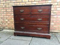 Antique large chest of drawer