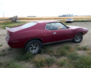 1971 AMC AMX PROJECT VERY RARE CAR