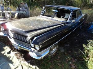 1964 Cadillac COMPLETE FRONT BUMPER- All Original