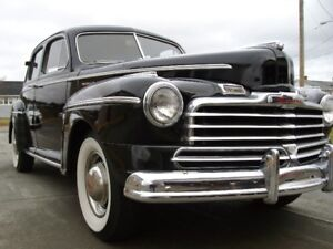 1947 Monarch and 1953 ford