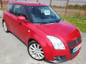 2008 58 SUZUKI SWIFT 1.6 SPORT - 12 MONTHS MOT, 89K LOW MILES, SPOILER& ALLOYS