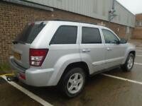 2008 (58) JEEP GRAND CHEROKEE 3.0CRD V6 DIESEL AUTOMATIC LIMITED 55,000 MILES