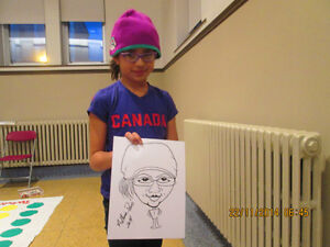 CARICATURE Artist Available for Parties and Events.. St. John's Newfoundland image 4