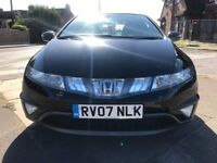 Honda Civic 1.8 I-VTEC ES I-SHIFT (black) 2007