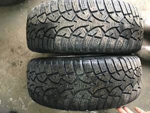 205/60/16 Altimax arctic snow tires 2