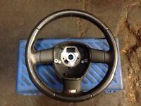Audi s3 8p steering wheel