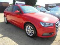 2015 64 AUDI A3 1.2 TFSI SE 5DR 110 BHP 2015 FINANCE WITH NO DEPOSIT AND NOTHING
