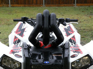 SNORKEL YOUR ATV snorkel kit for Polaris Scrambler ATV TIRE RACK Kingston Kingston Area image 1