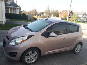 Great Gas mileage 2013 Chevy Spark