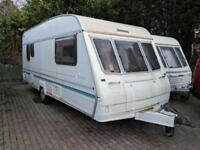 BAILEY RANGER 500/5 BERTH END BED 1997 £1995
