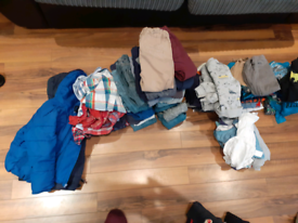 3 black bags of age 2-3 boys clothes