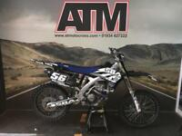 YAMAHA YZF250 2013 MOTOCROSS BIKE, FMF 4.1, INTERNALS, CARBON SKID (ATMOTOCROSS)