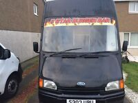 Fully refurbished snack van for sale! 9500 ONO
