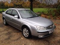 FORDS MONDEO 2.0 DIESEL AUTOMATIC.. LONG MOT.. LOW MILES..DRIVES PERFECT..