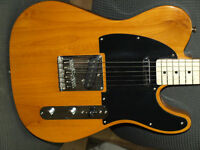 Beautiful Butterscotch Squire Telecaster w/fender gig bag