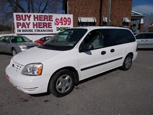 """2004 FORD FREESTAR SEL  """"WOW ONLY 119,000 KM"""""""