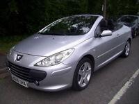 Peugeot 307 CC 2.0HDi ( 134.1bhp ) 2005MY SE