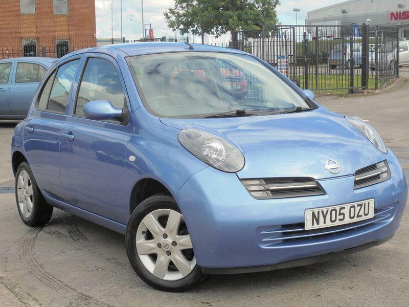2005 05 nissan micra 1 2 urbis 5d petrol in blue in manchester city centre manchester gumtree. Black Bedroom Furniture Sets. Home Design Ideas