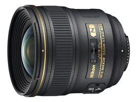 Nikon 24mm f/1.4G ED AF-S - IN ORIGINAL BOX