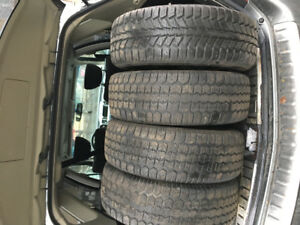 4 use winter tires 185/65R14
