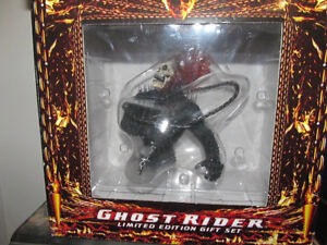 Ghost Rider Bust with DVD Limited Edition Giftset