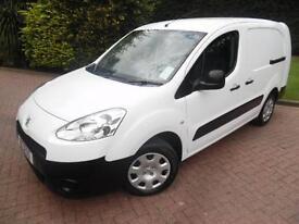 2013/63 Peugeot Partner S L2 1.6HDi LW 5 SEAT CREW VAN