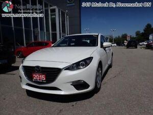 2015 Mazda Mazda3 GX - Bluetooth - $89.67 B/W