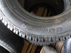 Several 16,17,18 inch winter tires for SUV and small trucks
