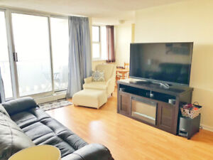Beautiful 1 Bedroom Apt in Lemarchant Tower. Across from DAL!