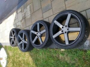 Niche Milan Rims and Toyo Proxes Tires 20inch - 5 x 112 for VW p
