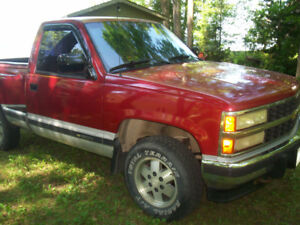 1991 chev 4x4 stepside scotsdale