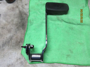 Harley Davidson 08 FL Brake pedal stock 42407-06 and pad