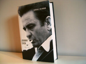 Johnny Cash the Life biography hard cover book + more