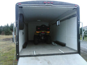 2015 18ft Enclosed Trailer For Sale
