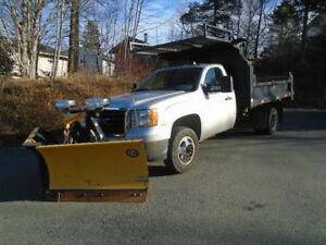 2010 GMC Sierra 3500 DURAMAX DIESEL WITH 9.5 FISHER PLOW