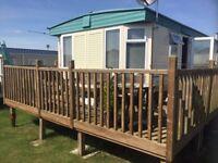 Spacious 3 bedroom static caravan for sale NOT SITED