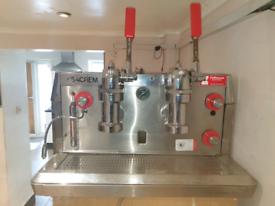 VISACREM commercial coffee machine