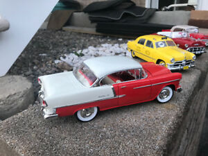 Chevrolet bel air hard top 1955 diecast 1/18 die cast