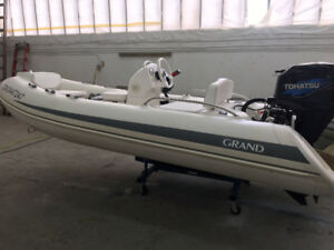 Inflatable Boat 12 ft RIB  like Zodiac and AB or Highfield RIBS