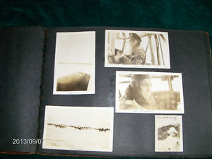 WW 2-R.C. CHARLTON-COLLECTION 5 PHOTOGRAPHS-R.C.A.F.-VINTAGE!