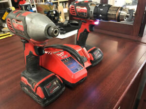 Milwaukee M18 Drill and Impact Kit