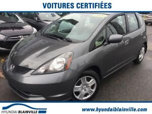 Honda FIT LX BLUETOOTH, A/C, RÉGULATEUR DE VITESSE 2014