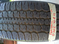 Firestone 205-70R13 M+S FR480 USED TIRE