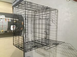 Medium dog cage for sale